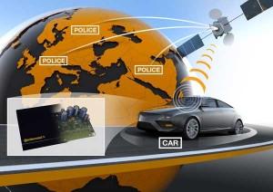 Устройство для слежения за машиной