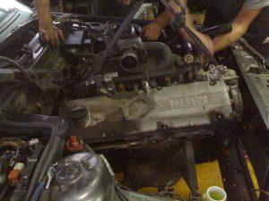 Смена двигателя в птс ваз