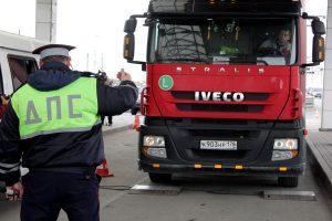 Какой штраф действует за перегруз грузового автомобиля