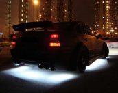 Разрешена ли установка подсветки на днище автомобиля