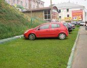 Какие штрафы за парковку автомобилей на газоне действуют в 2017 году